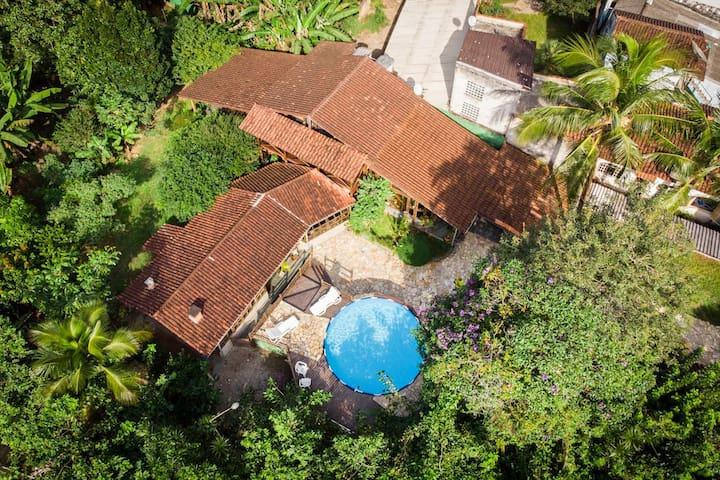 Casa aconchegante em Boiçucanga - Suíte para casal