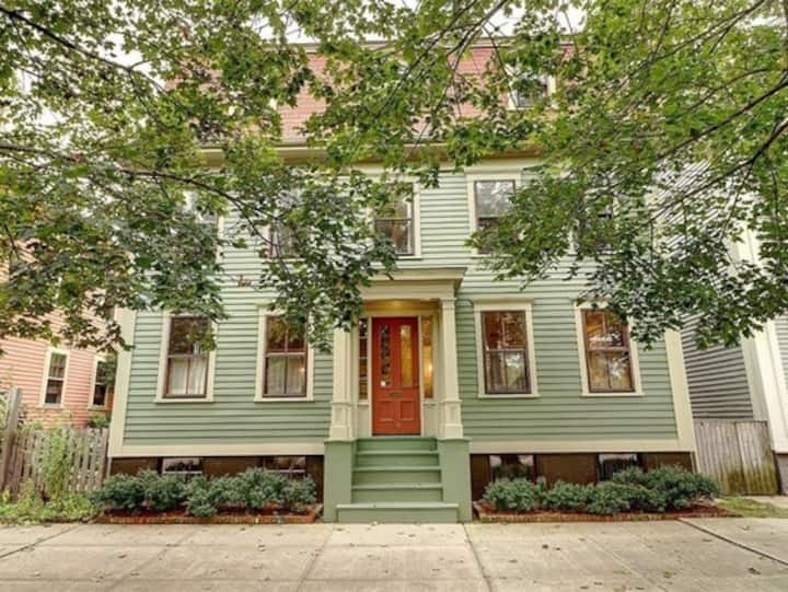 Charming architect renovated Armory District home