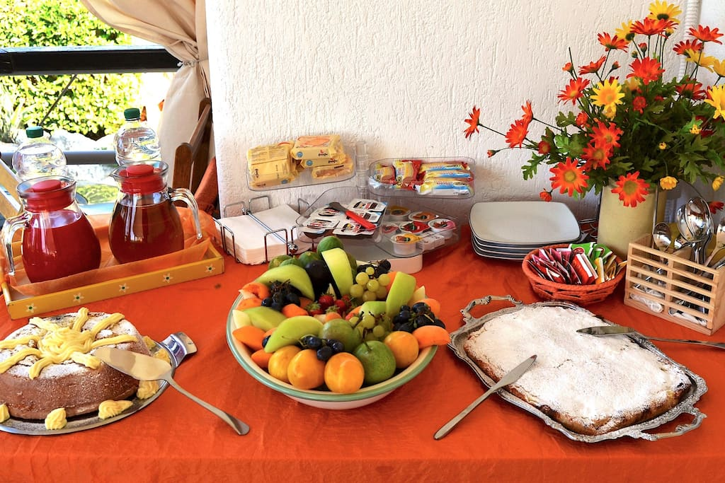 Colazione italiana a buffet