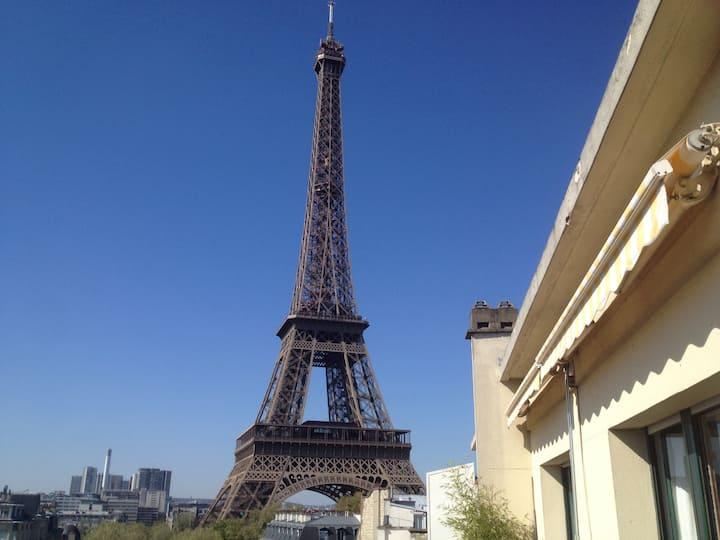 Eiffel Tower penthouse