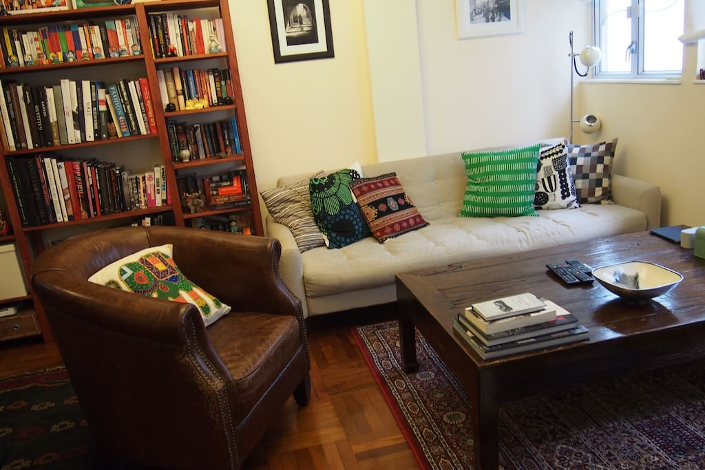 Living room, sofa bed  for 1 or 2 person