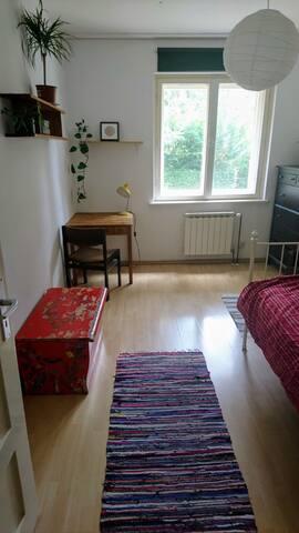 Gemütliches Zimmer in Gartenwohnung