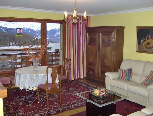 Crans-Montana Appartement 4 couchages plein Sud
