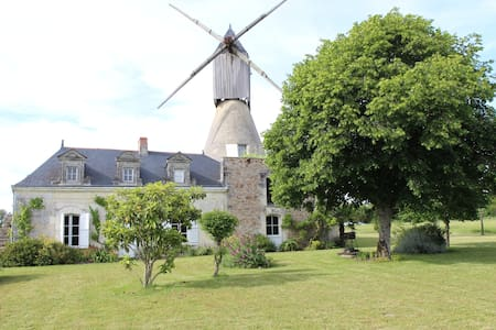 Moulin à vent (Wind mill) - Saint-Rémy-la-Varenne
