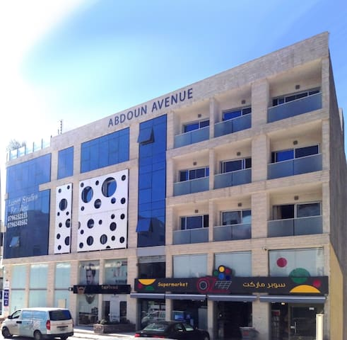Cosy & Serviced Studios in the heart of Amman - Amman - Appartement