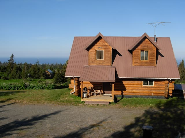 Acclaimed View Log Cabin