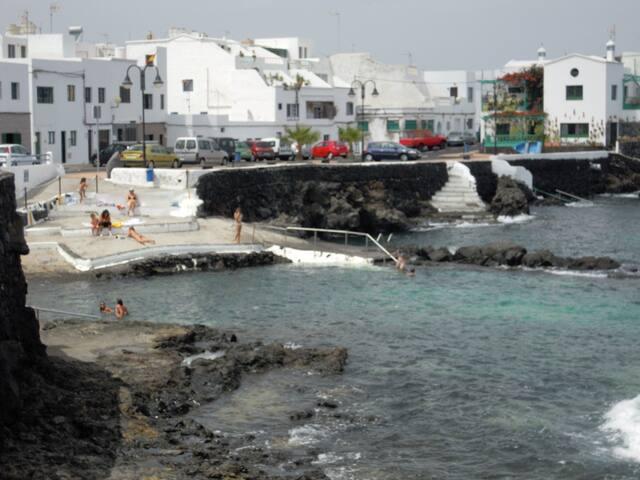 apartamento 2º linea de mar. - Punta Mujeres