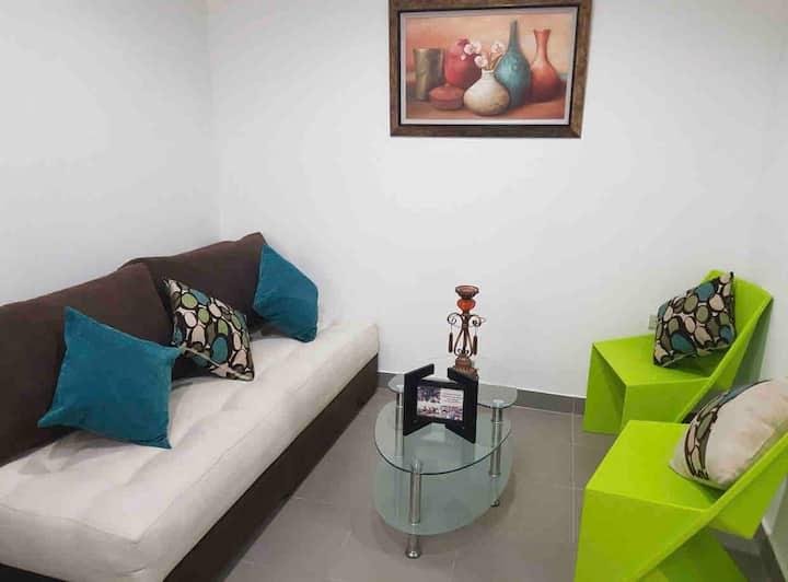 Moderna Suite cerca de Playa Murciélago y Mall Pac