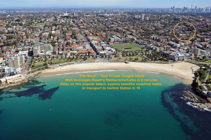 """""""The Neval""""-Your Coogee Home. Walk to beach/cafes - Coogee - Casa"""