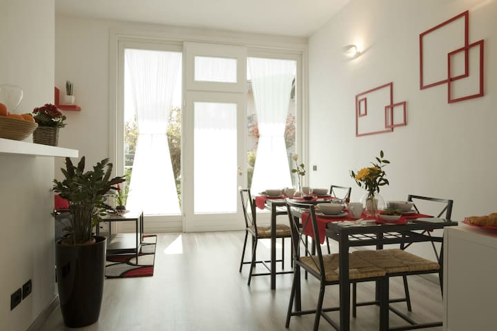 B&B Ca' Nobil - Apartment with 2 bedrooms - Bernate Ticino - Oda + Kahvaltı