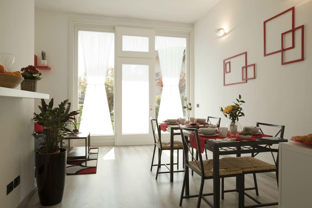 B b ca 39 nobil appartamento con 2 camere da letto for Appartamento con 2 camere da letto