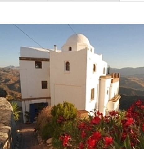 Cliff top House,Comares - Comares