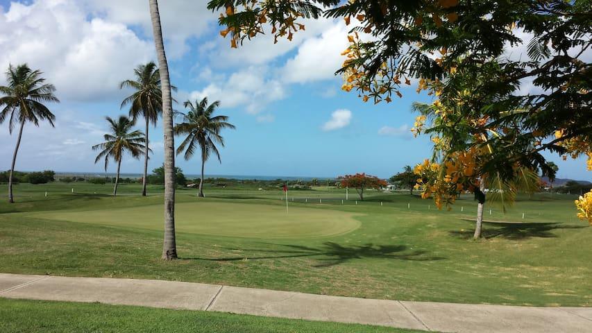 Penthouse 2b/2b @ Golf Resort, w/WiFi