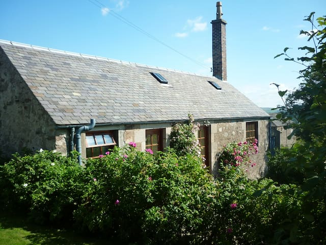 Ardormie Farm Cottage - cosy country cottage for 2 - Alyth