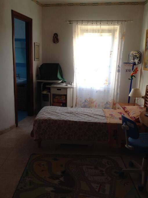 Camera 2 letti singoli con bagno