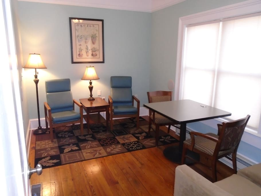 Private 9x13 sitting/work room