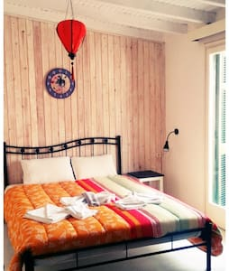 Colorful Double Room on the Seaside - Corfú