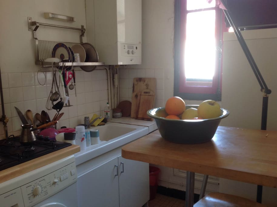 Nice kitchen with all  the necessary equipment