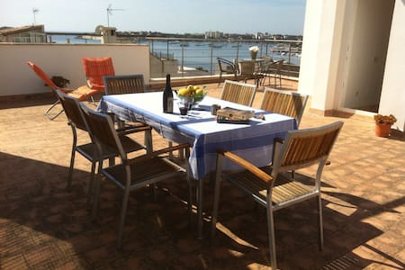 House & terrace in Old Town Portocolom for 5-6 - Felanitx