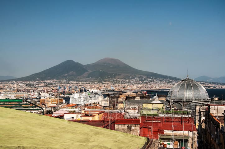Panoramic Penthouse:Terrace wi-fi - Naples - Apartment