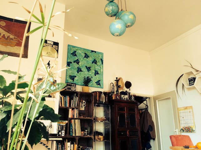 Creatief ingericht, hartje Deventer - Deventer - Apartament