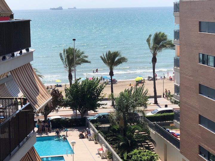 Apartamento en primer linea de playa