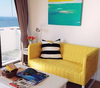 Sea view studio 1401 Bed & Beach - Tambon Saen Suk, Ampur Muang Chonburi - アパート