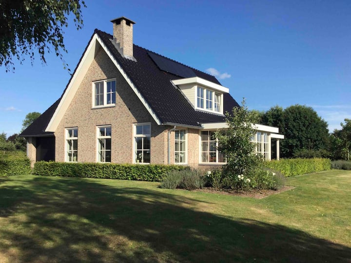 Luxury studio near Amsterdam, rural view