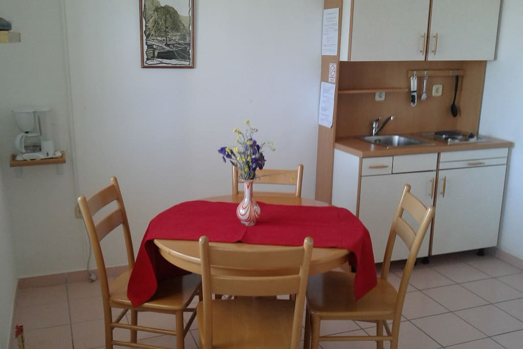 kitchen and dining place