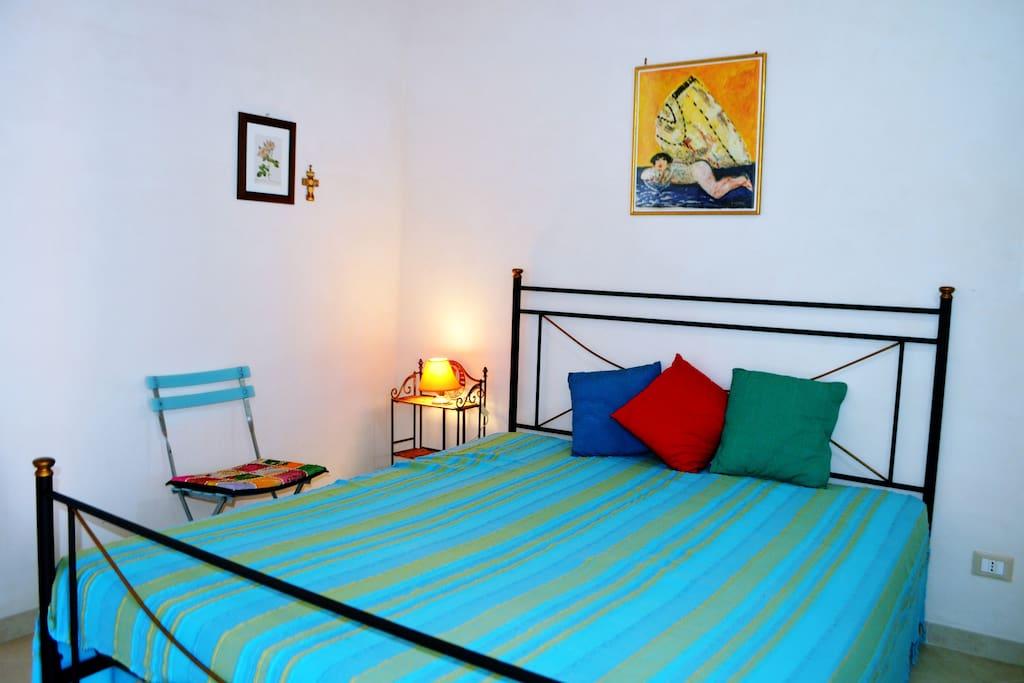 Camera da letto 1 matrimoniale con bagno privato