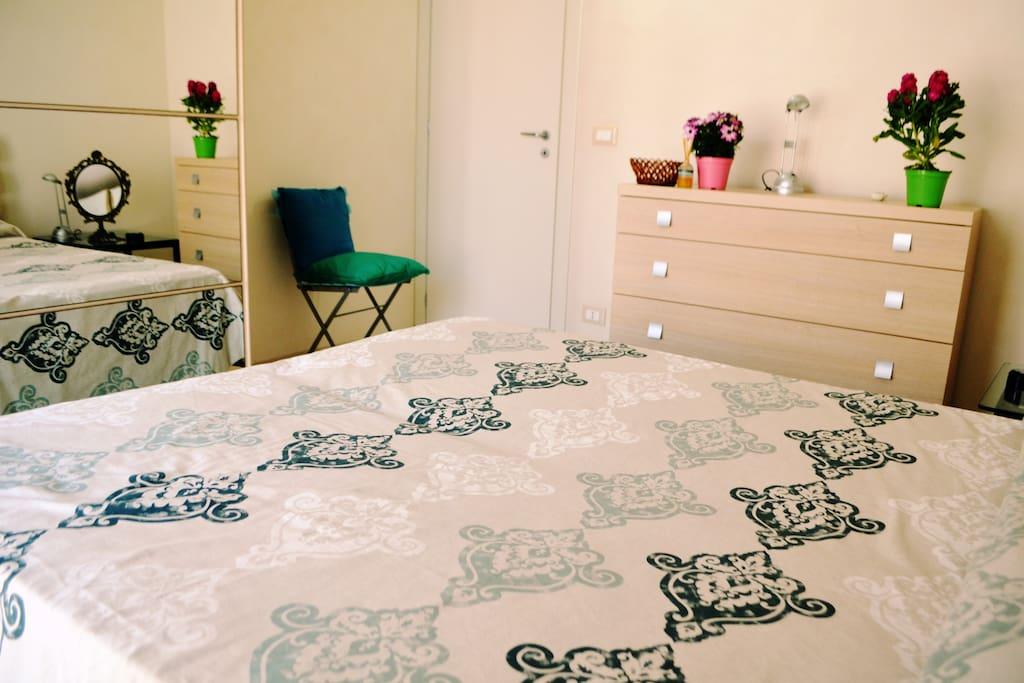 Camera da letto 2 matrimoniale con bagno privato
