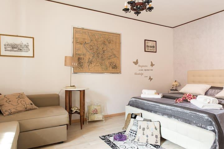 Lovely Effe's House in rome - Roma - House