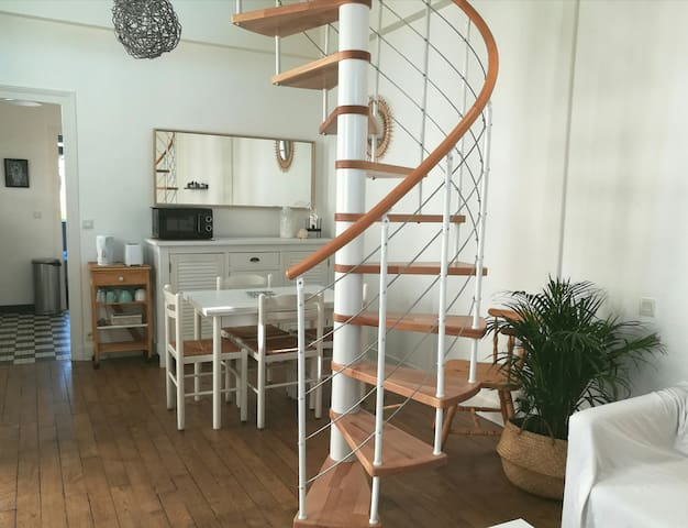 Le Homard, nice 1 bedroom flat 350m from the beach
