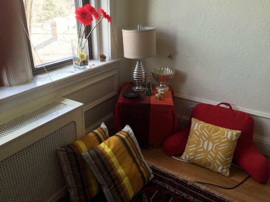 TV room corner