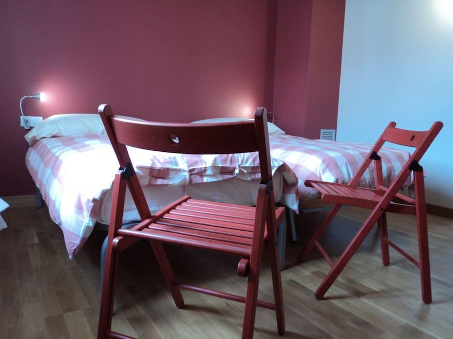 Habitaciones de dos camas
