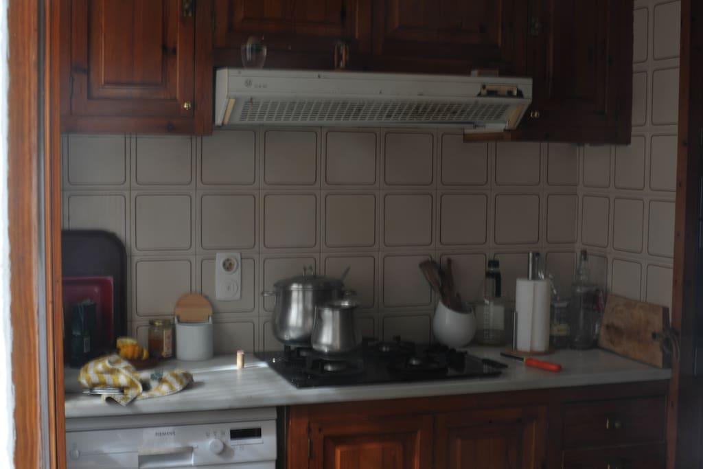 Kitchen/Cocina