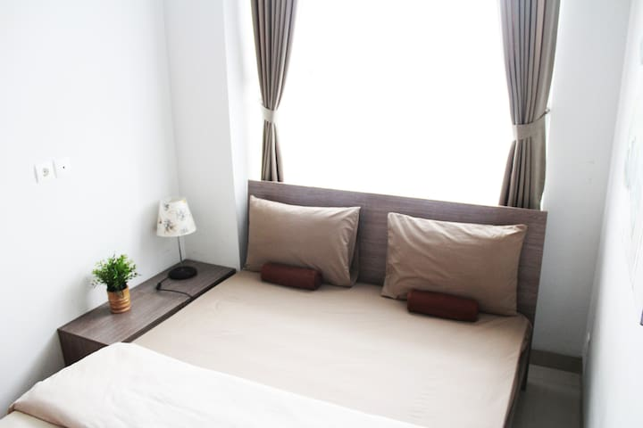 BrightCozy 1BR Apt w/ Wifi,TVCable,Kitchen in Dago