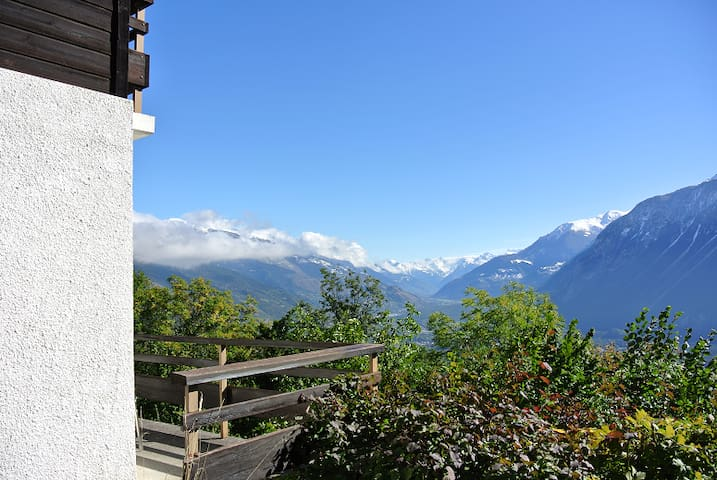 Large Chalet with stunning views - Mollens - Villa