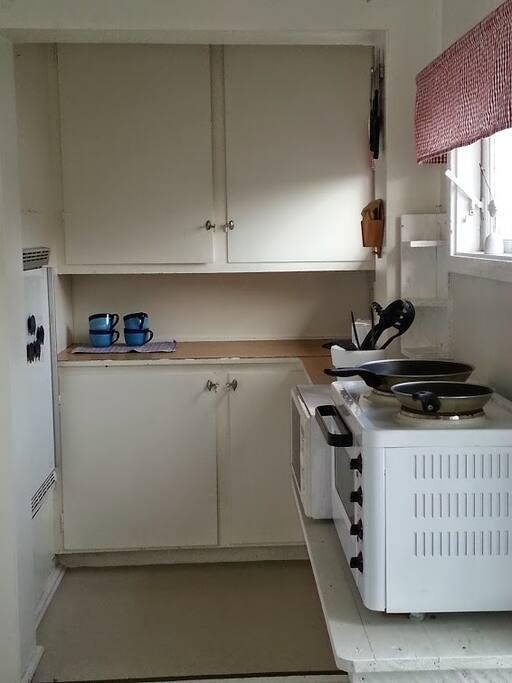 Kitchen. Note! no running water.