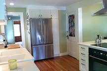 New kitchen!  Beautiful space to prepare a meal!