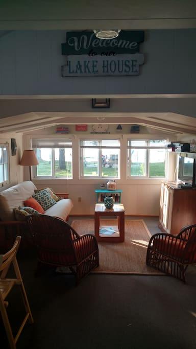 Vintage one room cottage