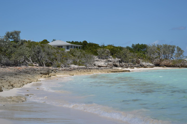 Shukeena House on beach front