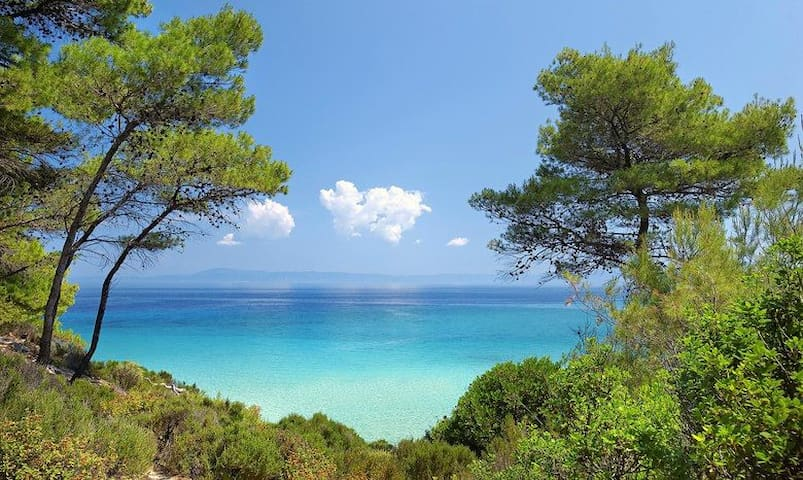 Summer Villa - Gorgeous beach - Κρυοπηγή