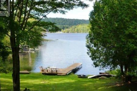 Lakefront 4 seasons cottage - Haliburton - Cabana