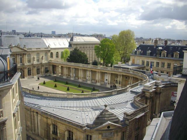 PRIVATE STUDIO IN PARIS CENTER - Paris - Daire