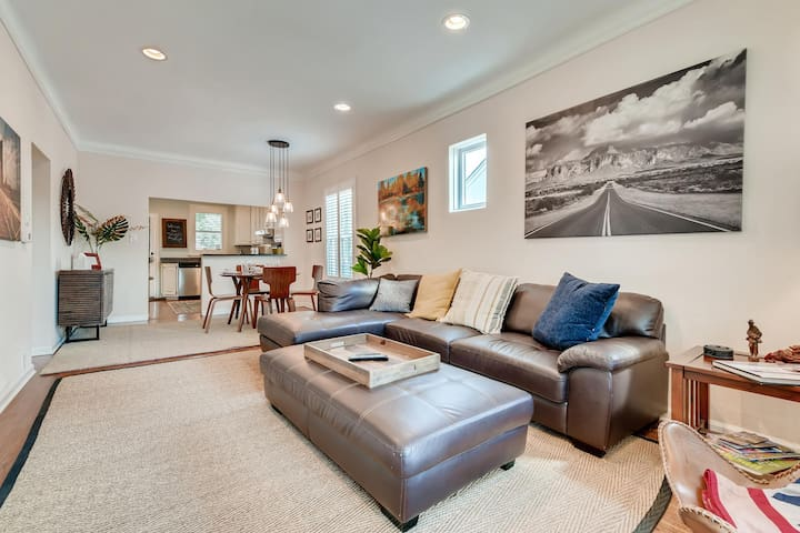 Relax in a Spacious Home, 2 Blocks from Wash Park