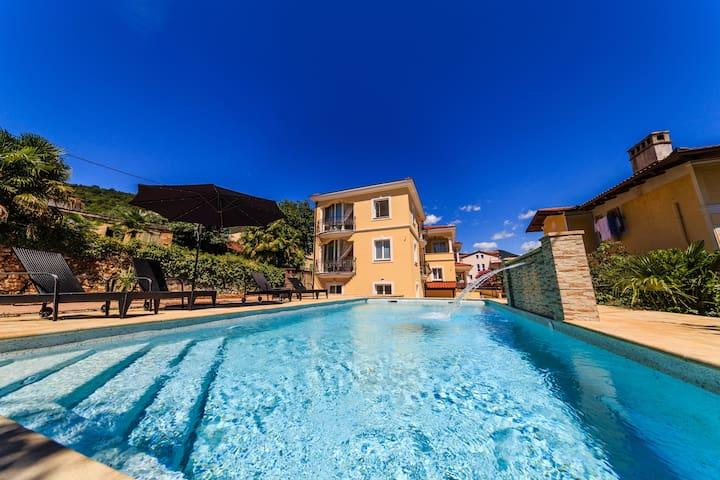 Apt1-Villa Palazzo - Heated pool, Lovran - Opatija