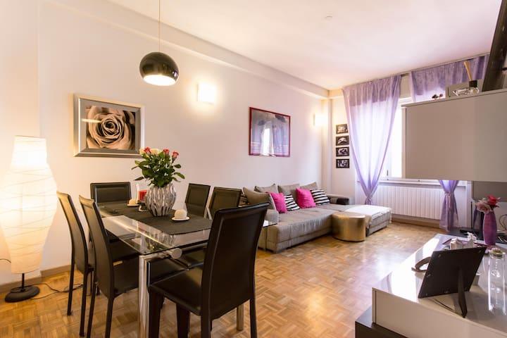 Accogliente,ampio,luminoso bilocale - Milano - Apartment