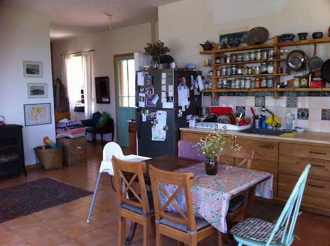 Beautiful cozy house in Klil - כליל - Maison