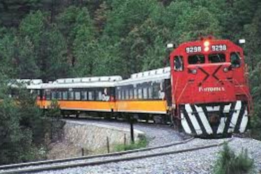 CHEPE train from Chihuahua or Los Mochis/El Fuerte
